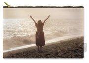 Girl On Beach Carry-all Pouch