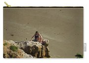 Girl On The Rocks - Compton Bay Carry-all Pouch
