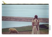Girl With A Sheep Carry-all Pouch by Joana Kruse