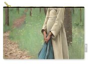 Girl With Bindle Carry-all Pouch