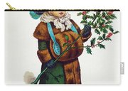 Girl With Holly Carry-all Pouch