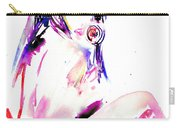 Girl With Lollipop Carry-all Pouch