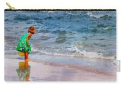 Girl With Pail Carry-all Pouch