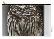 Give A Hoot Carry-all Pouch by John Haldane