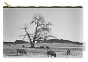 Give Me A Home Where The Buffalo Roam Bw Carry-all Pouch