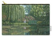 Giverny Reflections Carry-all Pouch by Richard Harpum