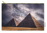 Giza Pyramids In Cairo Egypt Carry-all Pouch