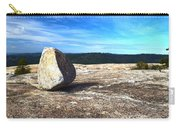 Glacial Erratic On Bald Rock Dome Carry-all Pouch
