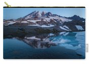 Glacial Rainier Morning Reflection Carry-all Pouch