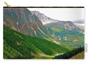 Glacier Area By Mount Edith Cavelle In Jasper Np-alberta Carry-all Pouch