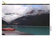 Victoria Glacier Canoe, Lake Louise, Alberta Carry-all Pouch
