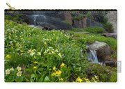 Glacier Lilies And Globeflower Beside A Mountain Stream Carry-all Pouch