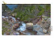 Glaciers Wild Carry-all Pouch by Darren  White