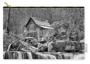 Glade Creek In Black And White Carry-all Pouch