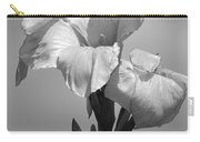 Gladiola In Black And White Carry-all Pouch