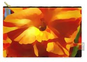 Gladiola Up Close Impression Carry-all Pouch