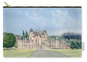 Glamis Castle Tayside  Carry-all Pouch by David Herbert