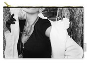Glamour Bw Palm Springs Carry-all Pouch by William Dey