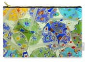 Glass Beads Abstract Carry-all Pouch
