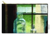 Glass Bottles On Windowsill Carry-all Pouch