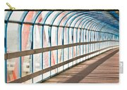 Glass Covered Walkway Carry-all Pouch