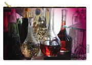 Glass Decanters And Glasses Carry-all Pouch