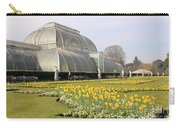 Glass House At Kew Gardens London Carry-all Pouch