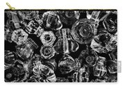 Glass Knobs - Bw Carry-all Pouch