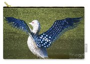 Glass Loon Carry-all Pouch
