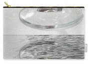 Glass Of Wine Painterly Mirrored Carry-all Pouch