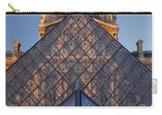 Glass Pyramid At Musee Du Louvre Carry-all Pouch