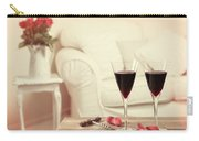 Glasses Of Red Wine Carry-all Pouch