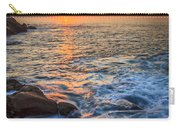 Gleaming Fire At Coitelada Galicia Spain Carry-all Pouch