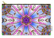 Gleaming Flower Bands Carry-all Pouch