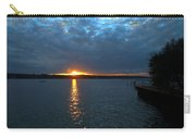 Glen Cove Sunset 3 Carry-all Pouch