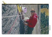 T-306607-glen Denny With Me On El Cap First Ascent 1962 Carry-all Pouch