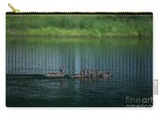 Gliding Across The Water Carry-all Pouch