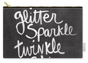 Glitter Sparkle Twinkle Carry-all Pouch