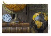 Globes And Old Books Carry-all Pouch
