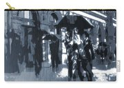 Gloomy Day In The City Carry-all Pouch by Dan Sproul