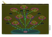 Gloriemae's Flower Carry-all Pouch