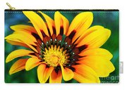 Glorious Day Yellow Flower By Diana Sainz Carry-all Pouch