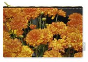 Glorious Golden Mums Carry-all Pouch