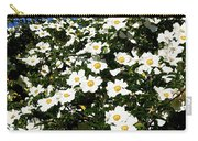Glorious White Roses Db Carry-all Pouch