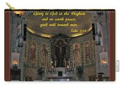 Glory To God In The Highest Carry-all Pouch