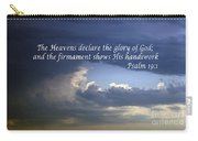 Glory To God   Psalm 10 1 Carry-all Pouch