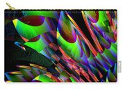 Glow In The Dark Abstract Carry-all Pouch