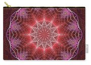 Glow Mandala Pink Carry-all Pouch
