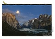 Glow - Moonrise Over Yosemite National Park. Carry-all Pouch