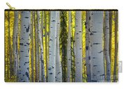 Glowing Aspens Carry-all Pouch